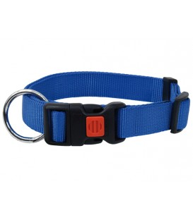 Obojek DOG FANTASY modrý 45-65 cm
