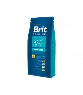 BRIT Premium Dog Lamb & Rice 15kg