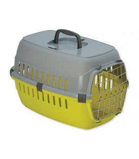 Přepravka DOG FANTASY Carrier žlutá 48,5 cm