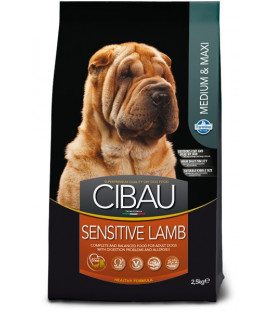 Cibau Adult Sensitive Lamb Medium&Maxi 2,5 kg