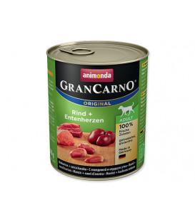 Konzerva ANIMONDA Gran Carno hovězí + kachní srdce 800g