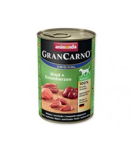 Konzerva ANIMONDA Gran Carno hovězí + kachní srdce 400g