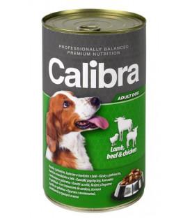 Calibra KONZERVA dog Adult Jehně&hovězí&kuře 1240 g
