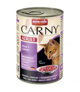 Konzerva Animonda CARNY® cat Adult hovězí a jehně 400 g